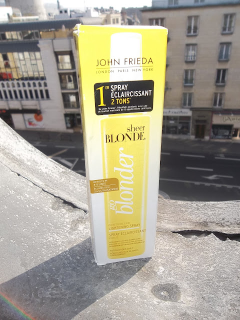 Spray éclaircissant Go Blonder Sheer Blonde - John Frieda