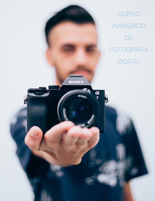 """Portada """"Curso Avanzado de fotografía digital"""""""