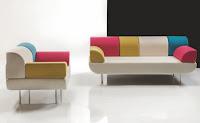 Sofa minimalis elegan untuk ruang tamu ukuran kecil
