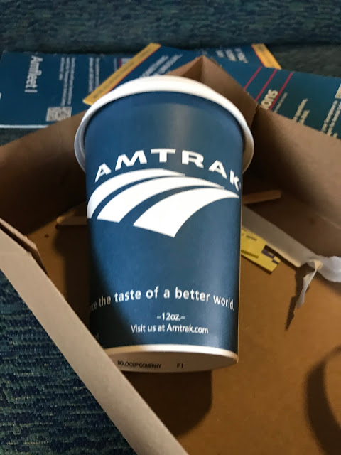 Amtrak Coffee
