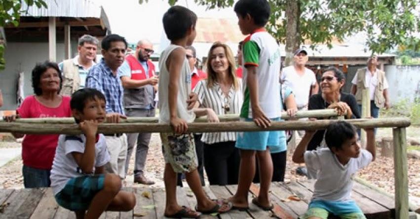 MINEDU: Ministra de Educación visita Yurimaguas para inaugurar escuela y supervisar instituciones educativas de la localidad - Loreto [VIDEO] www.minedu.gob.pe