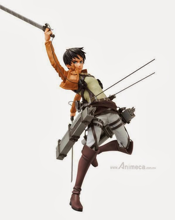 EREN YEAGER REAL ACTION HEROES FIGURE Shingeki no Kyojin Medicom Toy
