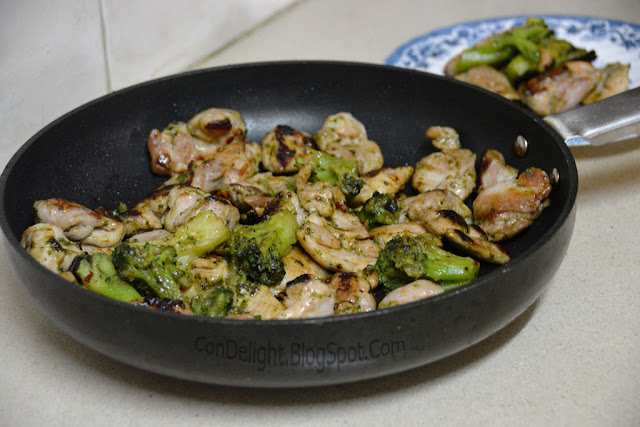 chicken and broccoli stir fry מוקפץ עוף
