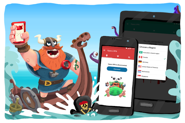 Opera Free VPN For Android