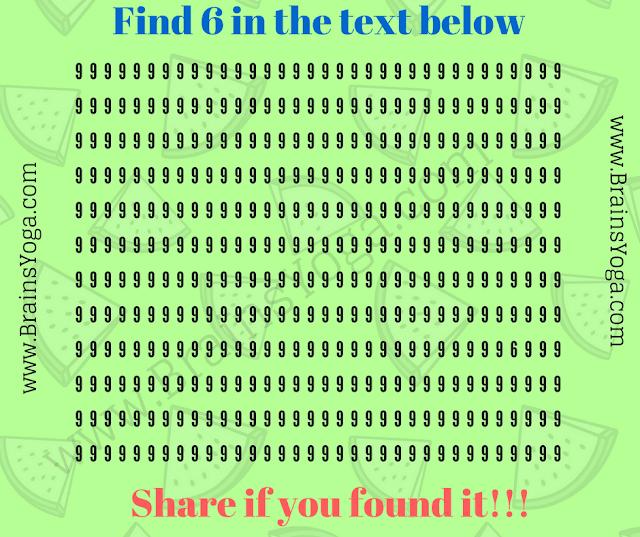 Non Verbal Hidden Number Puzzle