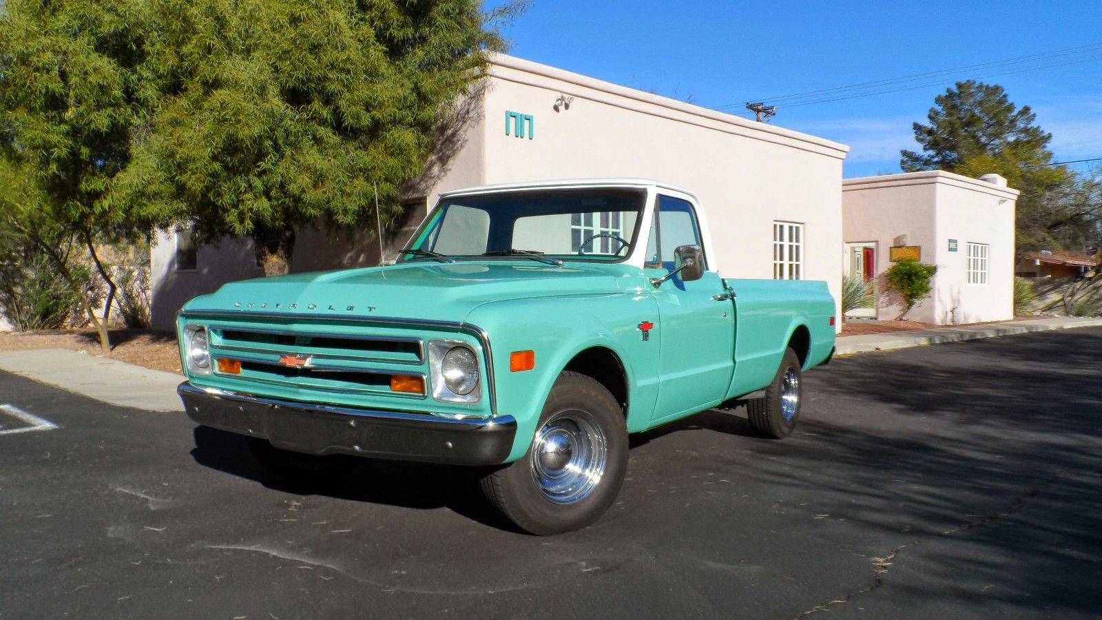 Pickup chevy c10 pickup truck : All American Classic Cars: 1968 Chevrolet C10 Pickup Truck