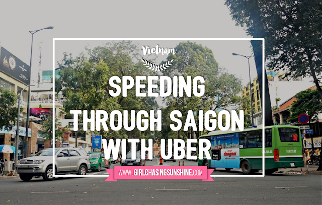 Using Uber in Saigon