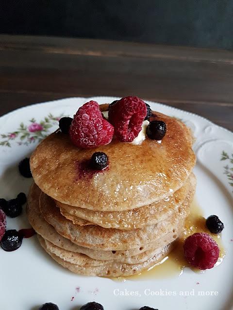Bananen Pancakes mit Haferflocken