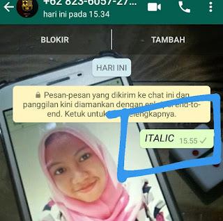 menguak rahasia tulisan unik di whatsapp