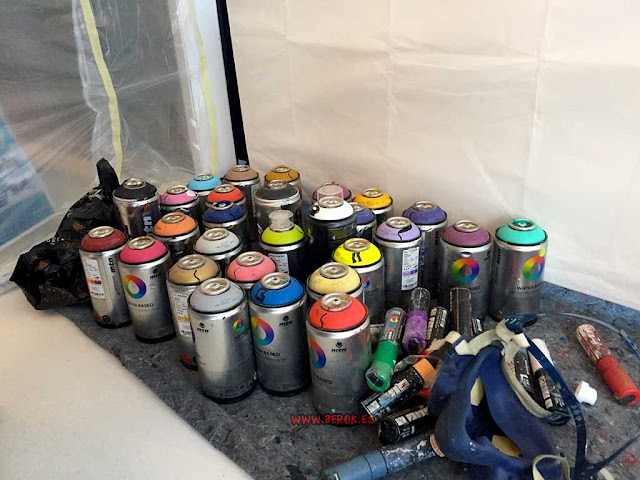 Montana Water Based Spraypaint 300
