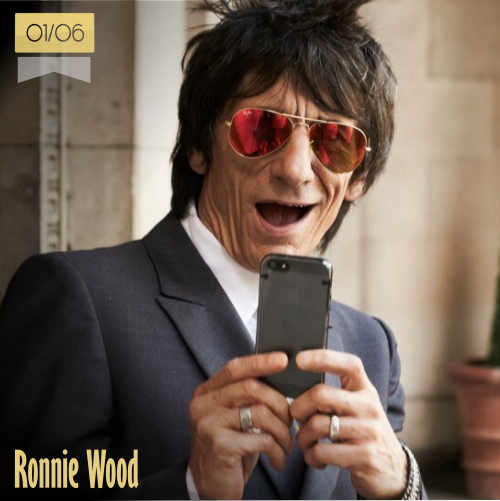 1 de junio | Ronnie Wood - @ronniewood | Info + vídeos