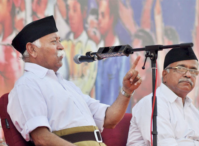 RSS to step up drive to check infiltration