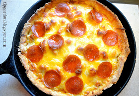 TIP GARDEN Skillet Meal Pizza Pie