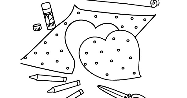 ColorMeCrazy.org: Girls Favorite Things Printable Coloring