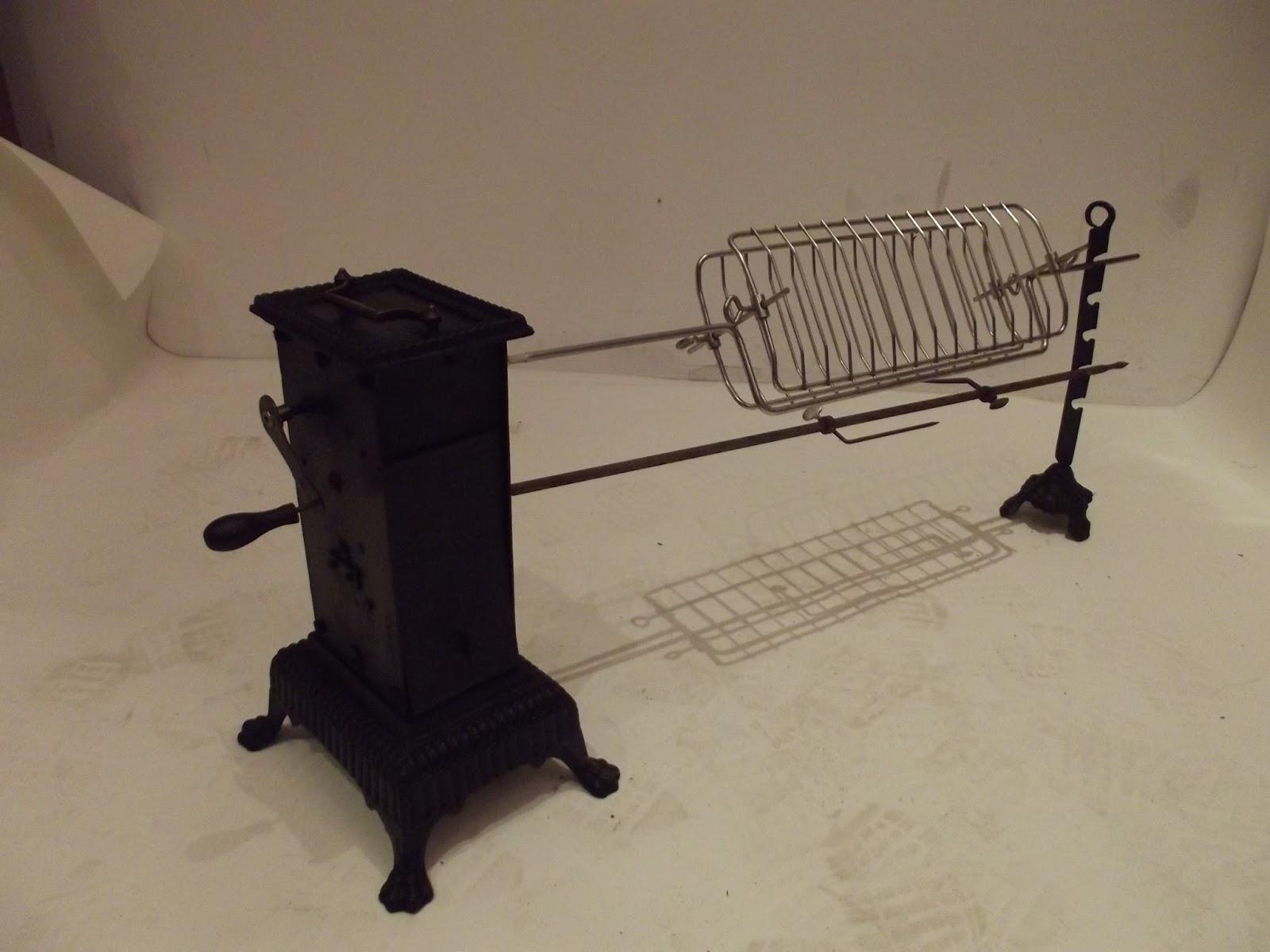 tourne broche pour grillades et brochettes ensemble complet double. Black Bedroom Furniture Sets. Home Design Ideas