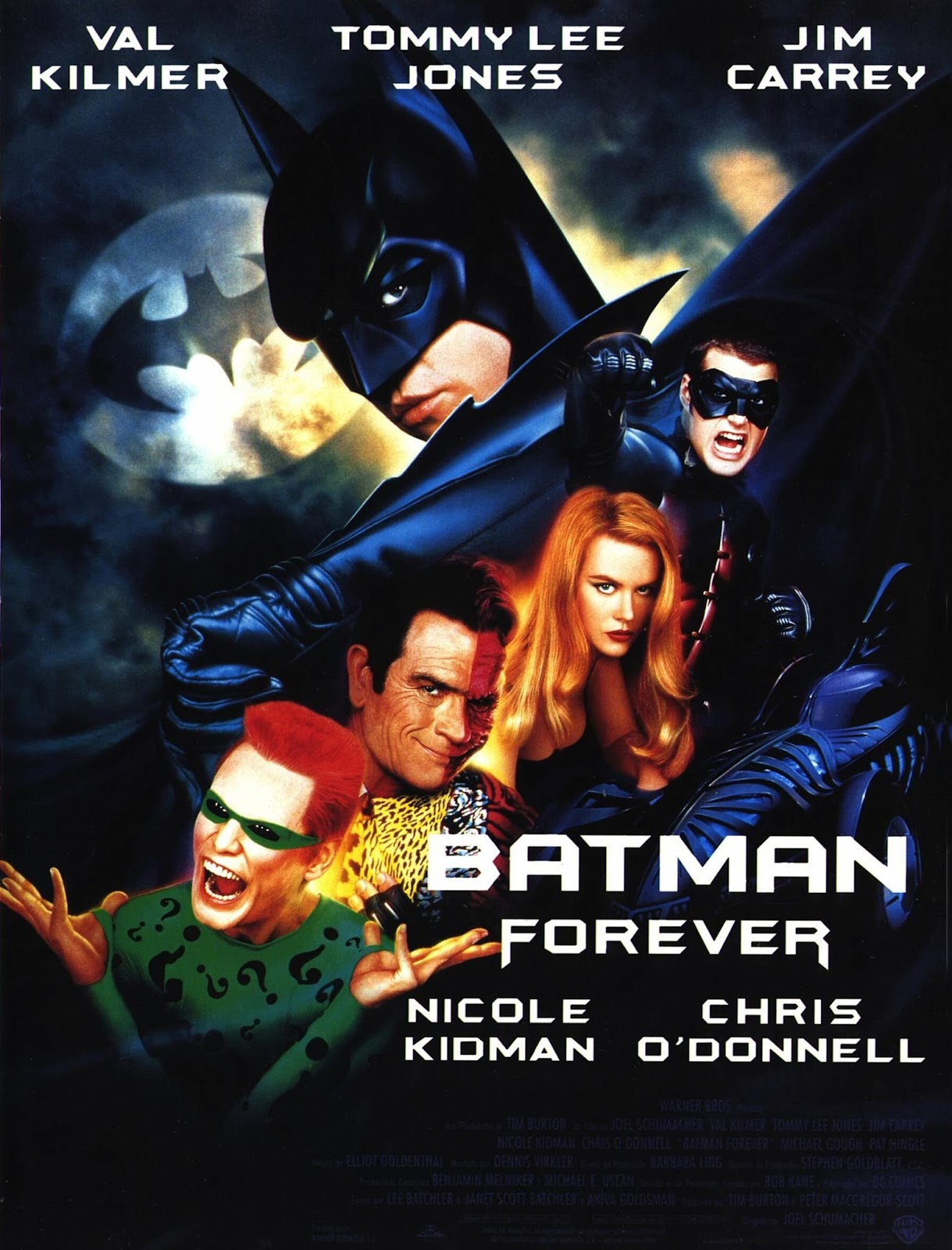 Waiching S Movie Thoughts More Retro Review Batman Forever 1995