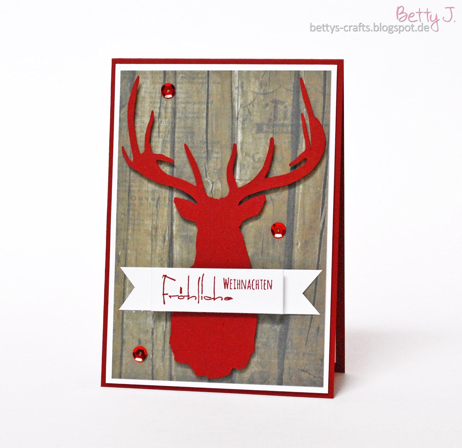 bettys crafts diy weihnachtskarten fotocontest. Black Bedroom Furniture Sets. Home Design Ideas