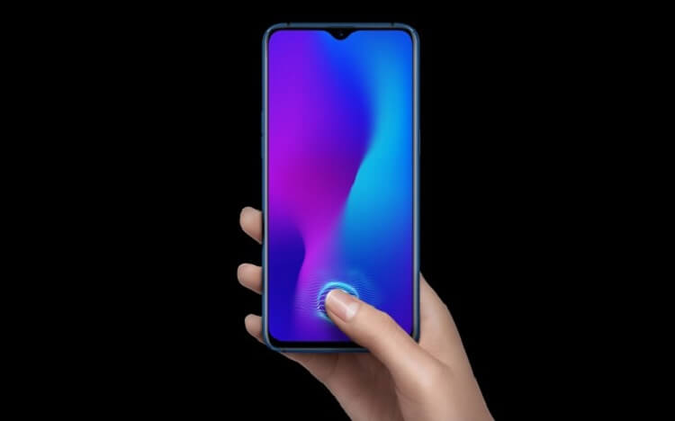 OPPO R17 Unveiled; Waterdrop Notch, In-display Fingerprint Scanner, and 8GB RAM!