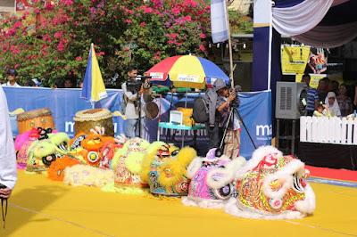 Mandiri Barongsai Festival Dalam Rangka Merayakan Imlek 2018