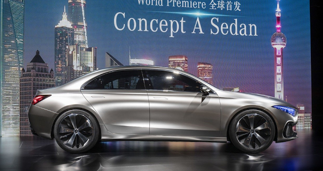 2017 Mercedes-Benz Concept A Sedan Review