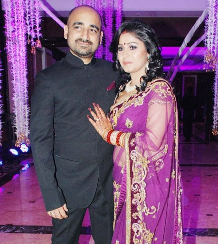Its All About Entertainment: Sunidhi Chauhan and Hitesh ...  Its All About E...