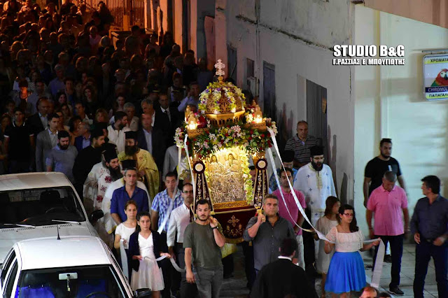 Η εορτή του Αγίου Πνεύματος στην Αγία Τριάδα (Μέρμπακα) του Δήμου Ναυπλιέων (βίντεο)