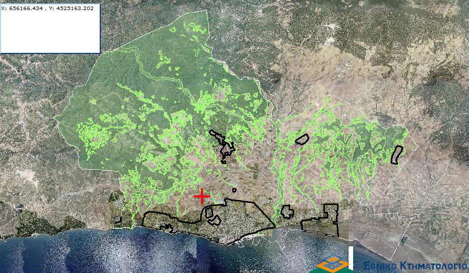 Ανάρτηση δασικού χάρτη Δ.Κ. Αλεξανδρούπολης και πρόσκληση υποβολής αντιρρήσεων