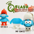 JUAL FLASHDISK UNIK MODEL MF 134 FATTY SMURF