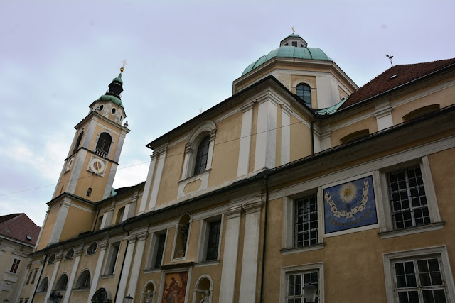 St Nicholas Church Ljubljana