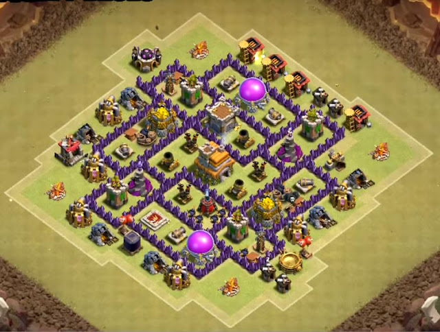 excellent level 7 base design for war