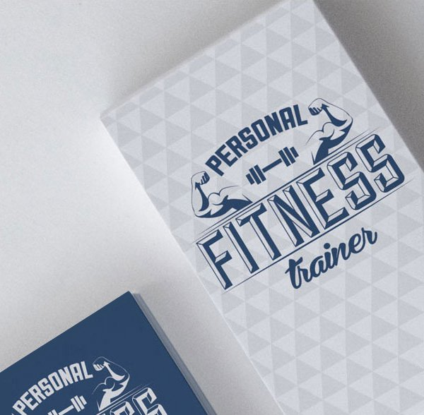 Best Free PSD Business Card Templates Photoshop Download - Personal trainer business cards templates