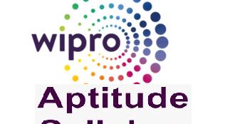 Wipro Aptitude Questions Pdf