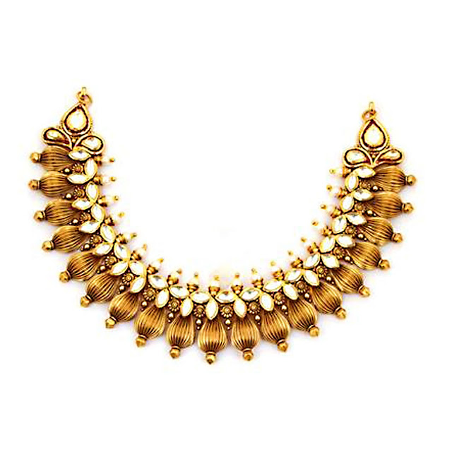 Gold Necklace by VelvetCase.com- Rs.3,08,249