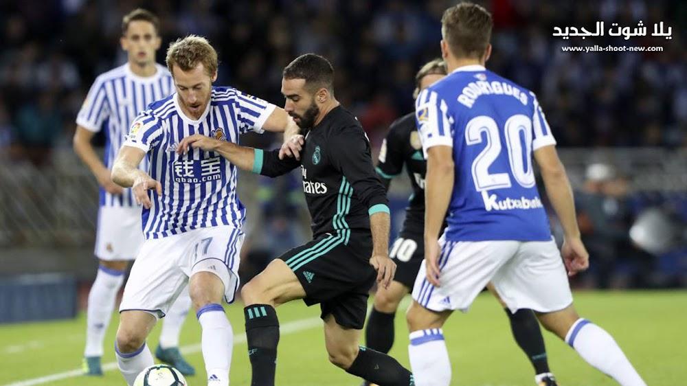 ريال مدريد يسقط امام ريال سوسيداد فى مباراة صعبه من الدوري الاسباني