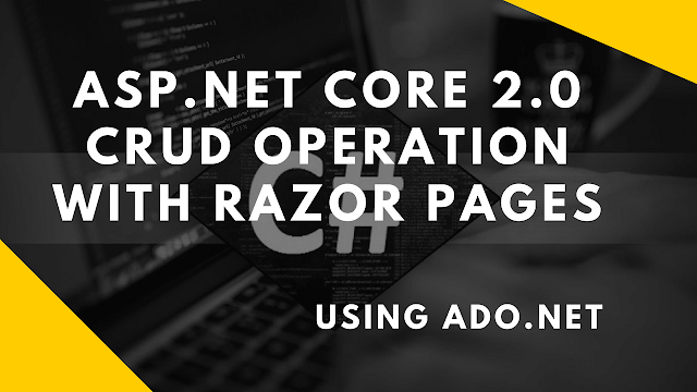 crud operation in asp.net core 2.0