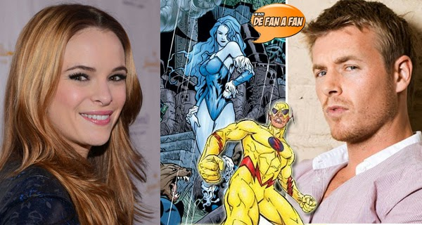 Daniele Panabaker (Killer Frost) y Rick Cosnet (Profesor Zoom) en The Flash (CW)