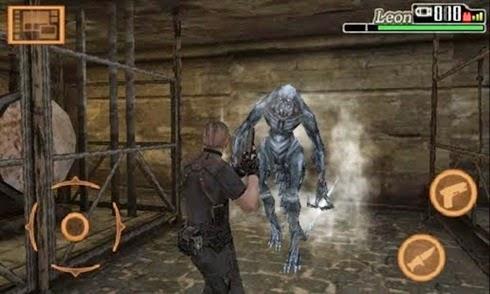 Download Resident Evil 4 Mobile Edition Apk + Data v1.00.04 Cracked