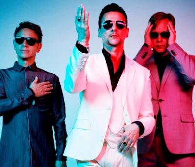 Foto de Depeche Mode con lentes