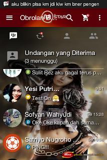 BBM MOD Tema Garena MSTAR Online v3.0.0.18 Apk Terbaru