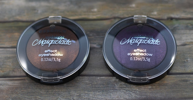 Essence midnight masquerade TE effect eyeshadows