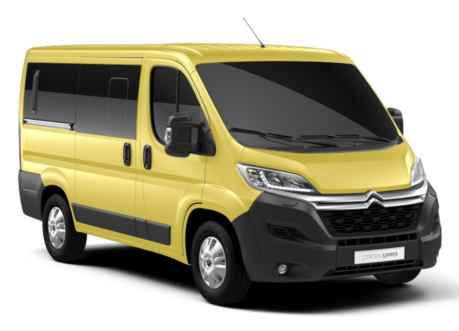 Citroën Jumper Combi II Restylé (2019) - Couleurs/Colors