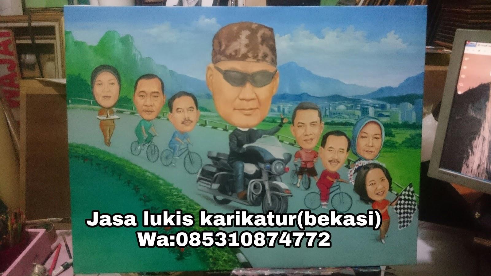 Lukis Karikatur Cibitung Cikarang Lukis Wajah 2018 Jasa Karikatur