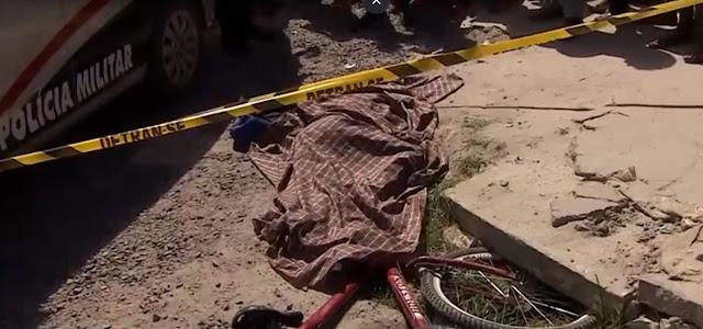 Menino de 11 anos morre atropelado por caçamba em Socorro