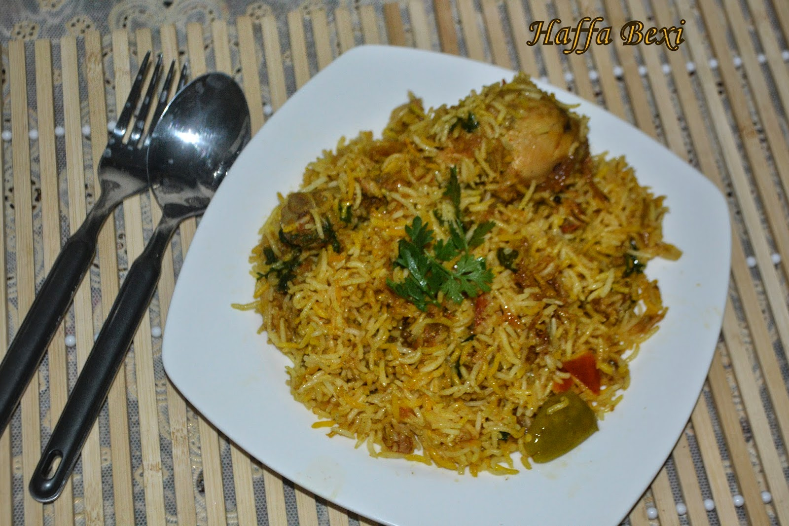 Chicken Biryani - Rice