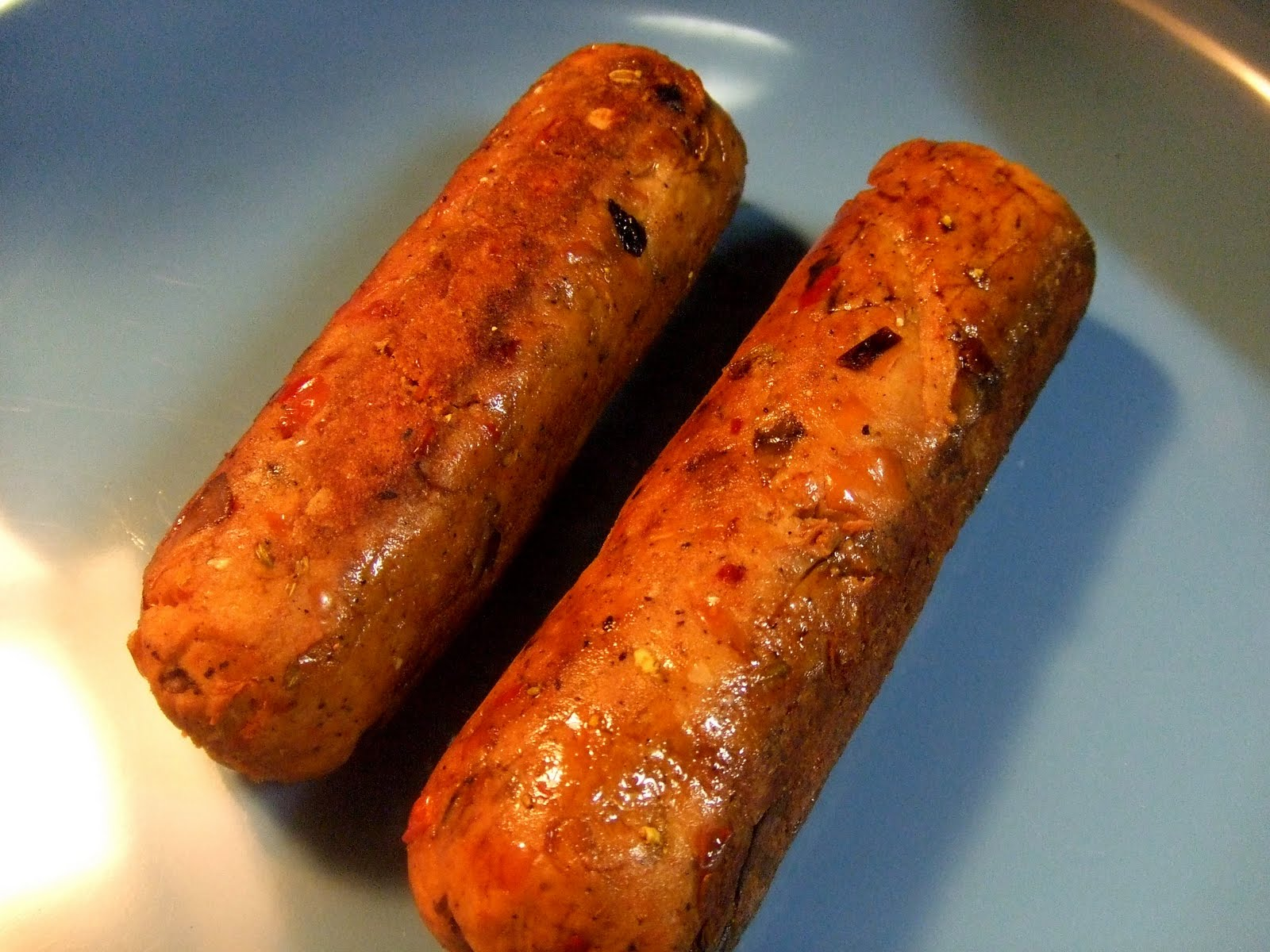 Vegan recipes Italian Sausages Edition
