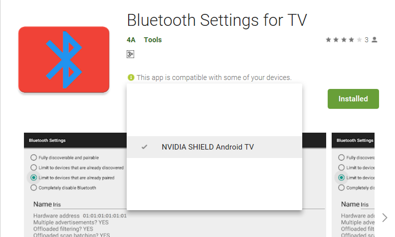 Loza's Blog: How to Disable Shield Bluetooth From Being