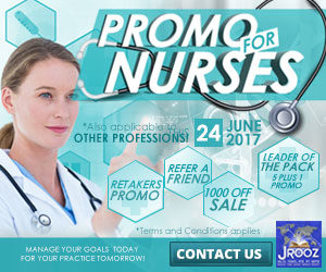 JROOZ FREE IELTS/IELTS UKVI PROMO for NURSES  Join us on June 24, 2017  Know the basics of IELTS and IELTS UKVI  GET 1000 OFF  Manage Your Goals Today For Your Practice Tomorrow!