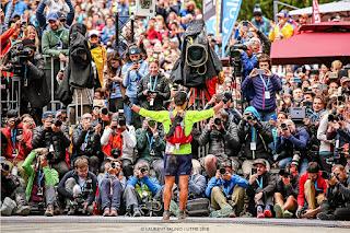 Xavier Thevenard, vainqueur de l'UTMB 2018 - Chamonix - ©Laurent Salino/Utmb2018