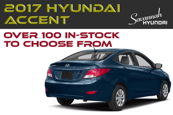 2017 Hyundai Accent On Sale