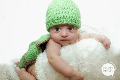 Tortuga crochet bebés